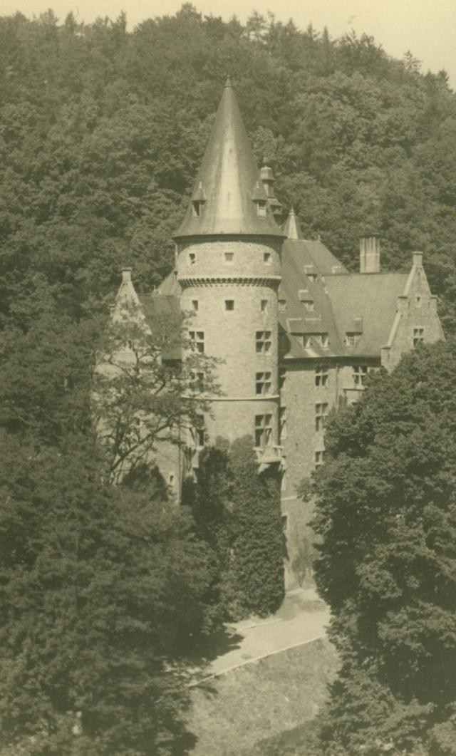 Marcheles-Dames en 1950, cantonnement. Albert079-1250330