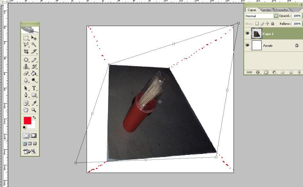 Como hacer una imagen 3D - Anamorfosis