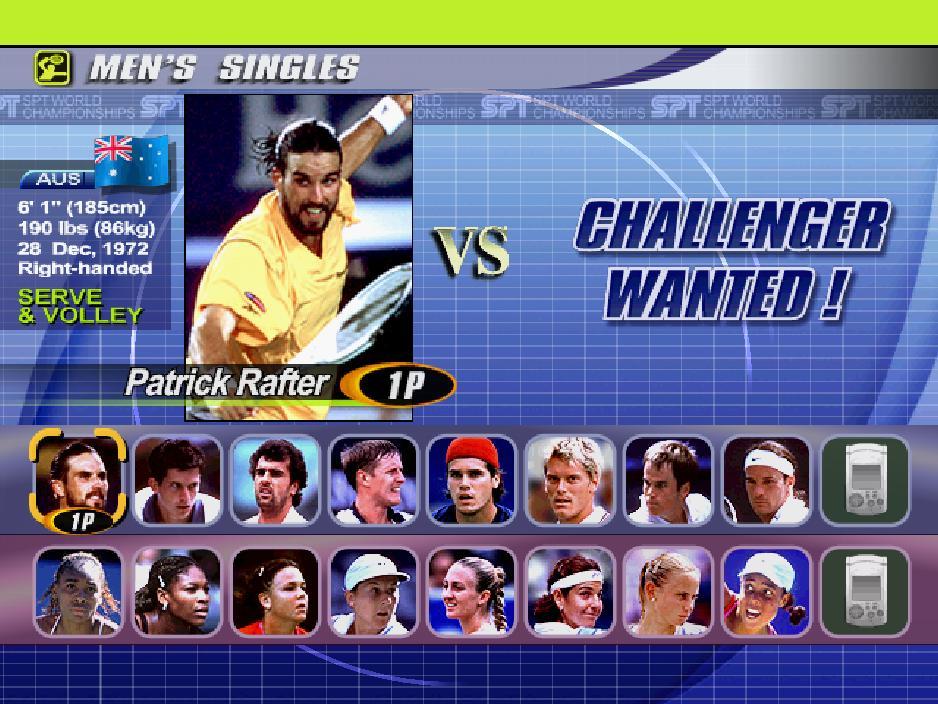 Dreamcast: Virtua Tennis