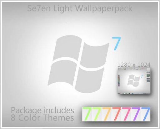 Se7en Light Wallpapers   ThemePack UmbrellaMOD.CoM