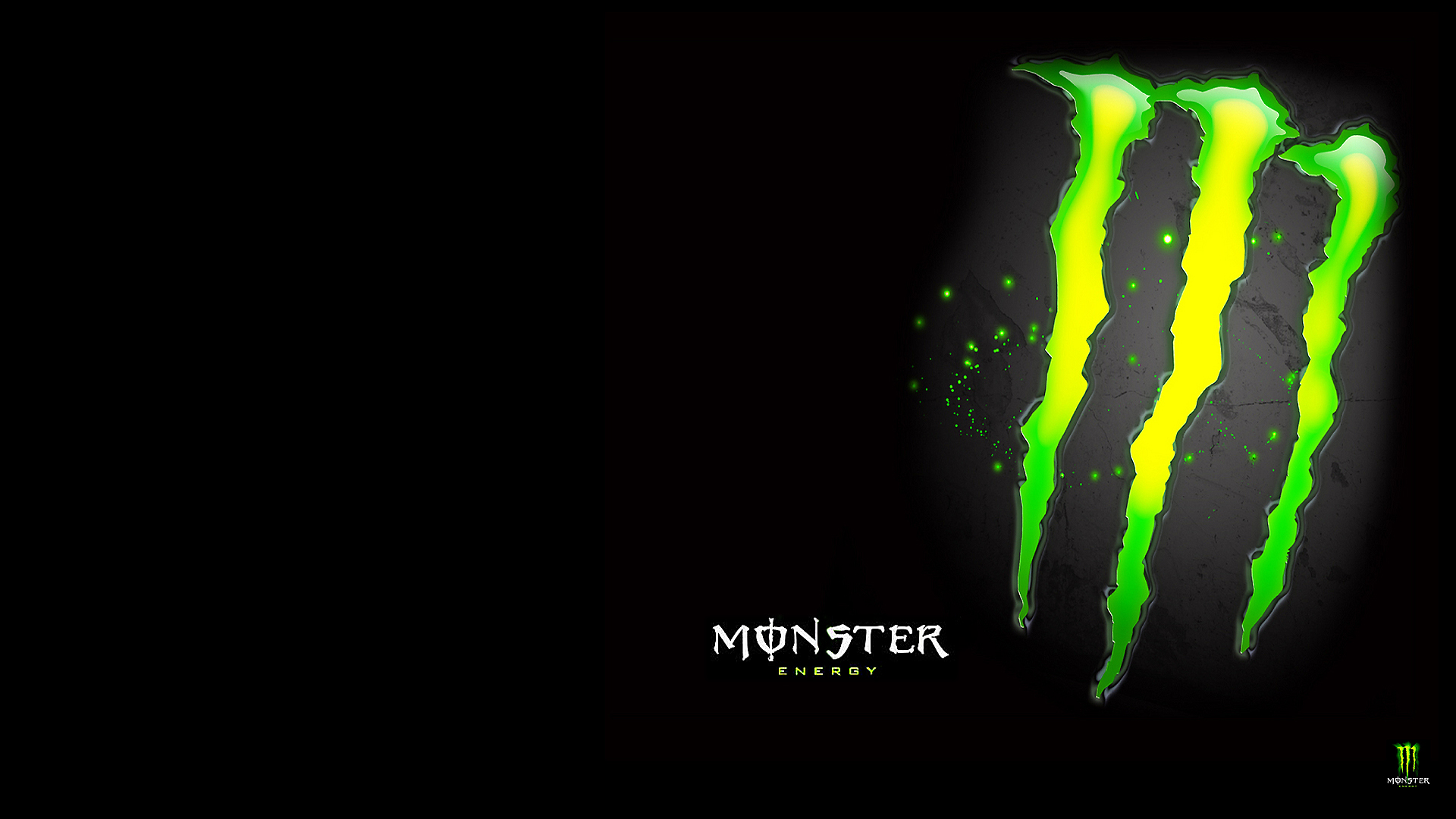 Monster Energy Digital Art 1920x1080